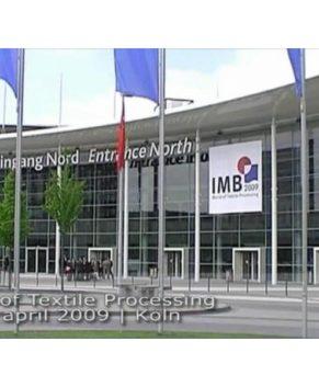 2009 - IMB - KOLN-MESSE   - WORLD OF TEXTILE PROCESSING  - FAIR GERMANY