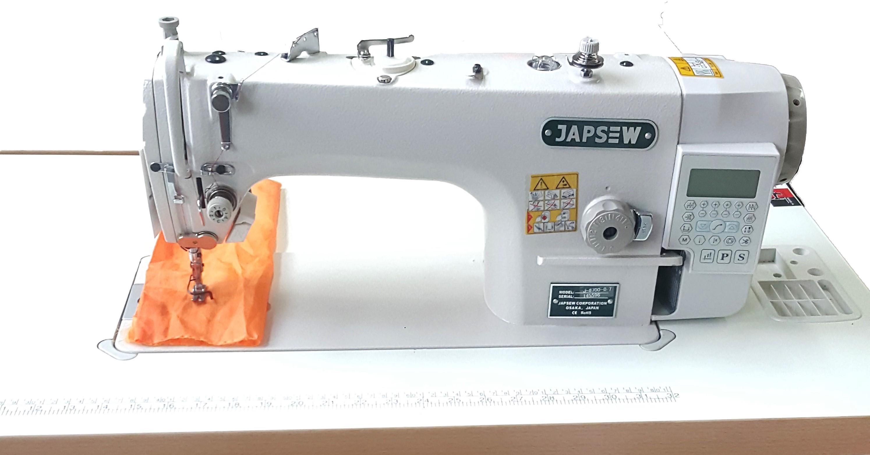 Masina de cusut industriala full automata Japsew J-8700-B-7 NOUA
