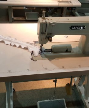 JAPSEW J-444-A - SCALLOP EDGE LOCKSTITCH MACHINE