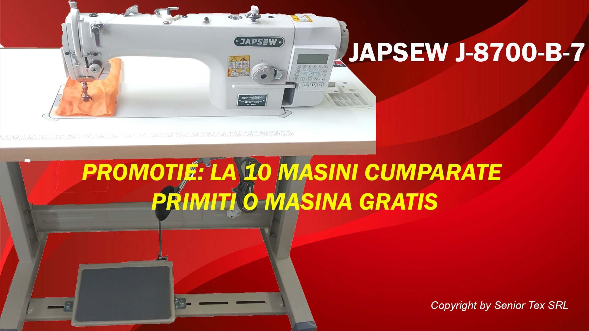 Masina de cusut industriala Japsew J-8700-B-7