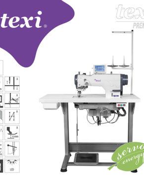 TEXI ZIGGY PREMIUM-Masina de cusut zig-zag electronica
