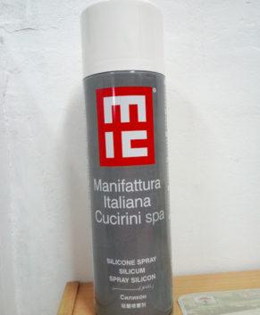 Spray siliconic lubrifiant pentru textile