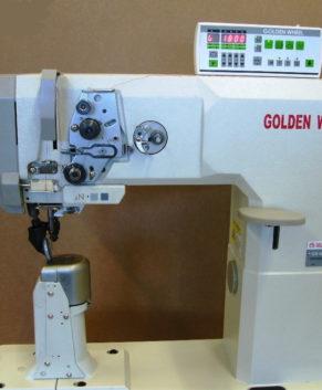 Golden Wheel CS-8891D-BFT - masina cusut piele/materiale groase