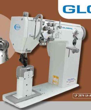 GLOBAL LP 2974 LH-AUT - Masina cu 2 ace pentru cusut incaltaminte