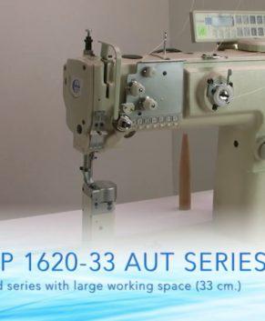 GLOBAL LP 1626-33-AUT - Masina de cusut cu coloana - 2 ace