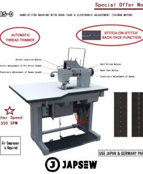 JAPSEW 785-D-Masina de cusut hand-stitch