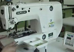 JAPSEW J-1903-A-Masina de cusut nasturi electronica