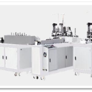 Masina de confectionat masti cu doua linii de productie