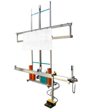 REXEL UCF-1 - Masina de taiere verticala pentru curte