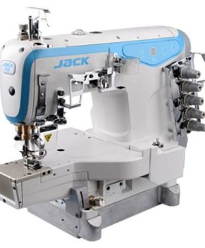 JACK K4-D-01GB/02BB - Masina uberdek cu brat cilindric
