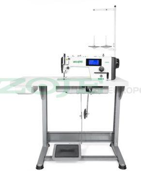ZOJE ZJ9000E-D4S-02 SET - Masina automata completa cu cusatura mecatronica, panou cu ecran tactil si circuit de lubrifiere inchis