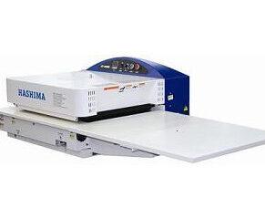 HASHIMA HP-450M, HP-450MS - Presa de termocolat compacta
