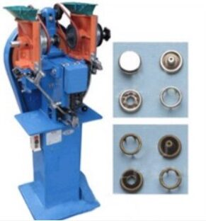 JAPSEW J-97 - Masina automata de batut capse pentru butoni de fixare cu varf