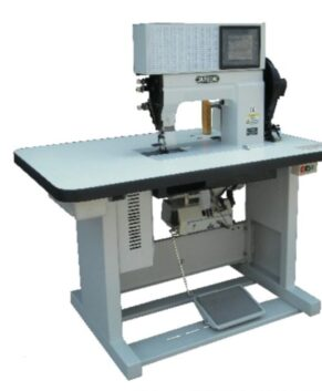 JAPSEW J-8850-C - Masina pentru mocassin computerizată cu pat plat